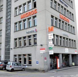 Le bâtiment accueille également d'autres enseignes. ©Michel Duperrex