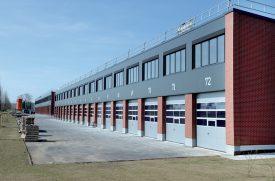 Les boxes mesurent 112m2 au rez-de-chaussée et 60m2 à l'étage. ©Michel Duperrex