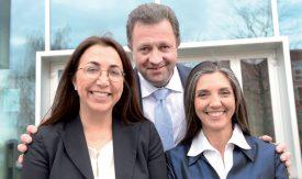 Le quatre candidats nord-vaudois au Conseil d'Etat, Cesla Amarelle (PS), Jacques Nicolet (UDC), Pascal Broulis (PLR ci-dessous) et Sylvie Villa (PDC, Alliance du Centre), ne figurent pas tous en tête de la liste pour le Grand Conseil. ©Duperrex-a