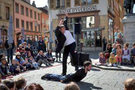 Comme l'année passée, la compagnie sainte-crix Idem sera de la fête. Elle présentera sa dernière création «Control», une danse «énergique et déliée, organique et virtuose, traversée des pulsions tumultueuses de la vie». ©alkabes-a