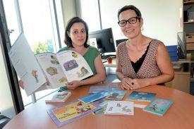Les infirmières Nathalie Forestier (à g.) et Sylviane Delacrétaz coordonnent les prestations à la petite enfance avec un personnel soignant d'une dizaine de personnes dans le Nord vaudois et la Broye. ©Michel Duperrex