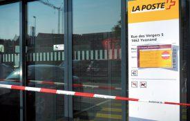 L'office postal a fermé ses portes durant toute la journée d'hier. ©Carole Alkabes