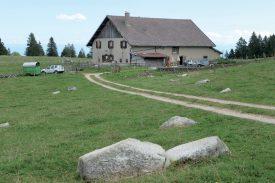 Le chalet et le pâturage du Mont-de-Baulmes Dessous vont bénéficier de gros travaux d'amélioration. ©Michel Duperrex