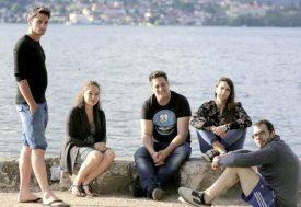 De gauche à droite, Jordann, Mélanie, Thys, Rachel et Xavier. ©Nasser Bakhti