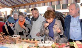 La truffe de Bourgogne, avec son petit goût de noisette, était bel et bien la reine de la fête, mais d'autres espèces viennent peu à peu sur le marché, comme la brumale. ©Michel Duperrex
