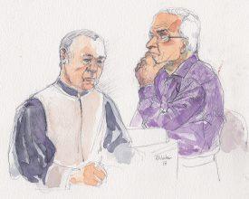 Le juge Eric Eckert a expliqué durant plus d'une heure, hier, les raisons qui ont poussé le tribunal à ce verdict. Il a également pris grand soin à ce que l'accusé comprenne la sanction prononcée à son encontre. ©Nater-a