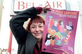 Adeline Stern, aussi appelée «Madame Lanterne Magique» sera la «ciné-exploratrice » des jeunes, dès samedi prochain, à Yverdon-les-Bains. ©Michel Duperrex