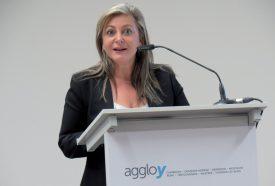 Nuria Gorrite, cheffe du Département des infrastructures et présidente du Gouvernement, est déterminée à régler les problèmes de mobilité. ©Raposo