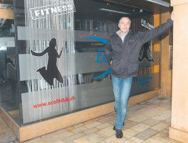 Pendant sept ans, Thierry Corneloup a tenu son centre de fitness indépendant à bout de bras. Aujourd'hui, lassé par les problèmes liés à son local, selon ses dires, il espère pouvoir reprendre son travail dès que possible. ©Michel Duperrex