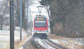 L'entreprise de transports publics Travys a connu de nombreux retards, ces derniers mois. Le mécontentement des voyageurs se fait sentir. ©Duperrex-a
