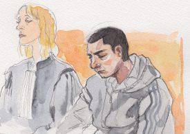 Le prévenu, actuellement détenu à Orbe, est accusé d'assassinat, après avoir roué de coups un Sainte-Crix. ©Emanuelle Nater