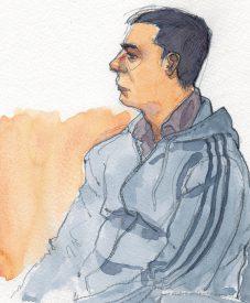 En attente de son jugement, le prévenu a pris la parole, lors des plaidoiries, pour enfin s'excuser auprès de la famille de la victime. ©Emmanuelle Nater