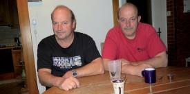 Philippe et Alain Martinet garderont un souvenir extraordinaire de leur oncle Jean Martinet. ©Raposo