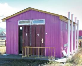 Les toilettes mongoles ne sont pas assainies, d'où une pollution des eaux. ©DR