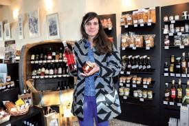 Marika Zisyadis veut mettre ses compétences au service des produits du terroir. ©Carole Alkabes