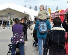 Le Comptoir du Nord vaudois durera jusqu'au dimanche 29 mars prochain. L'année passée, la manifestation avait battu son record de fréquentation avec pas moins de 45 000 visiteurs. © Duperrex -a