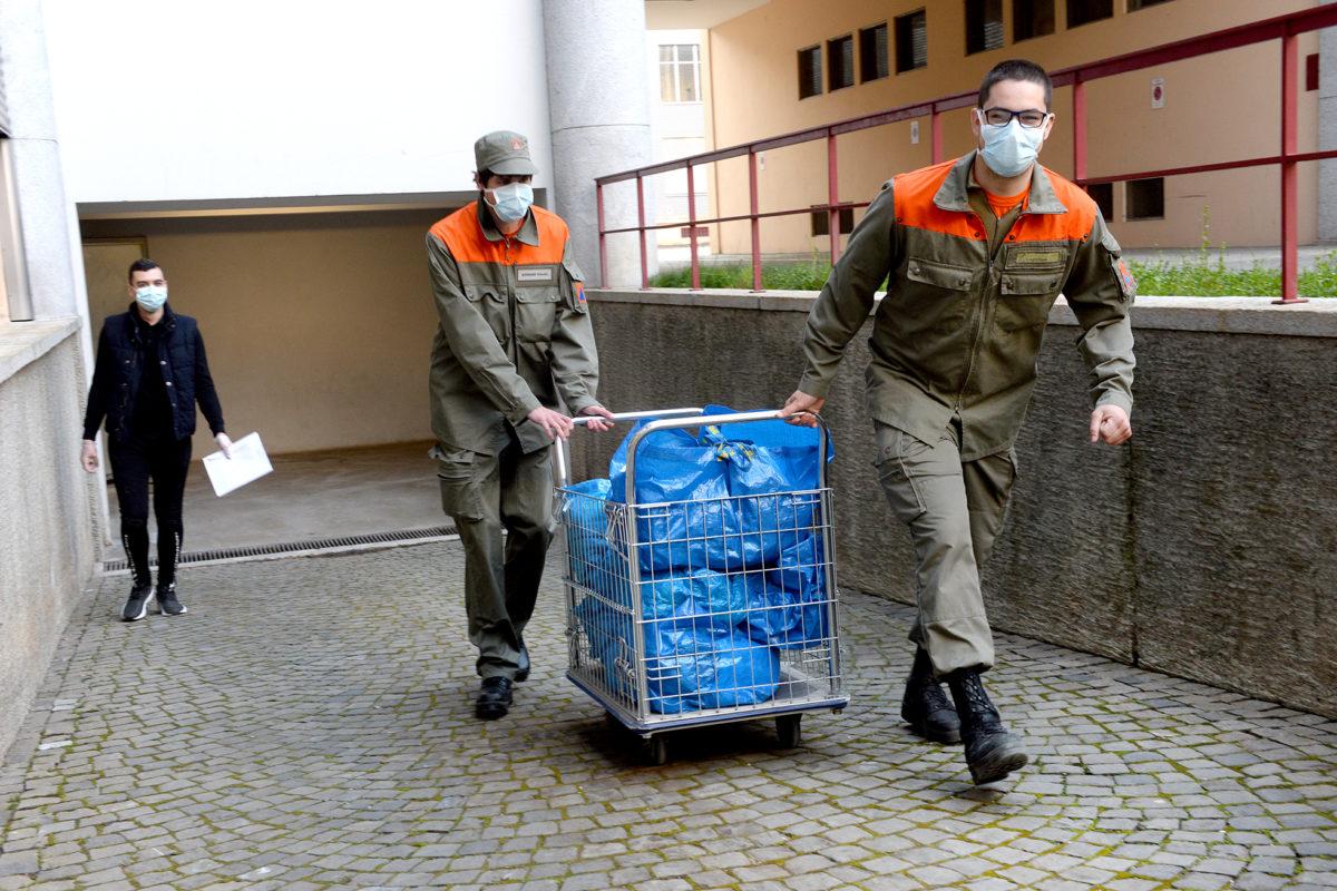 La Protection civile joue les lavandières