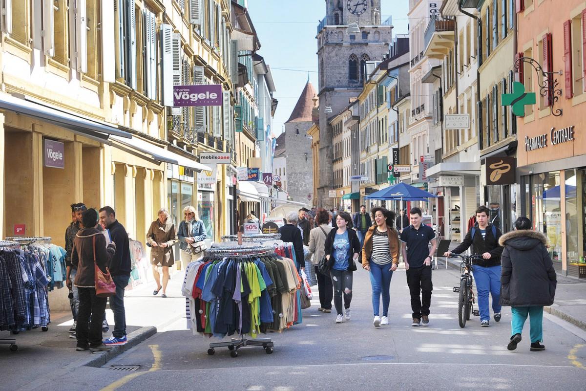 Yverdon veut dynamiser son centre-ville