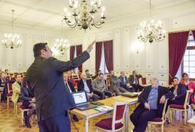 Le directeur général d'Imadeo, Nicolas Inglard, livre les conclusions de l'étude réalisée il y a une année. © Simon Gabioud