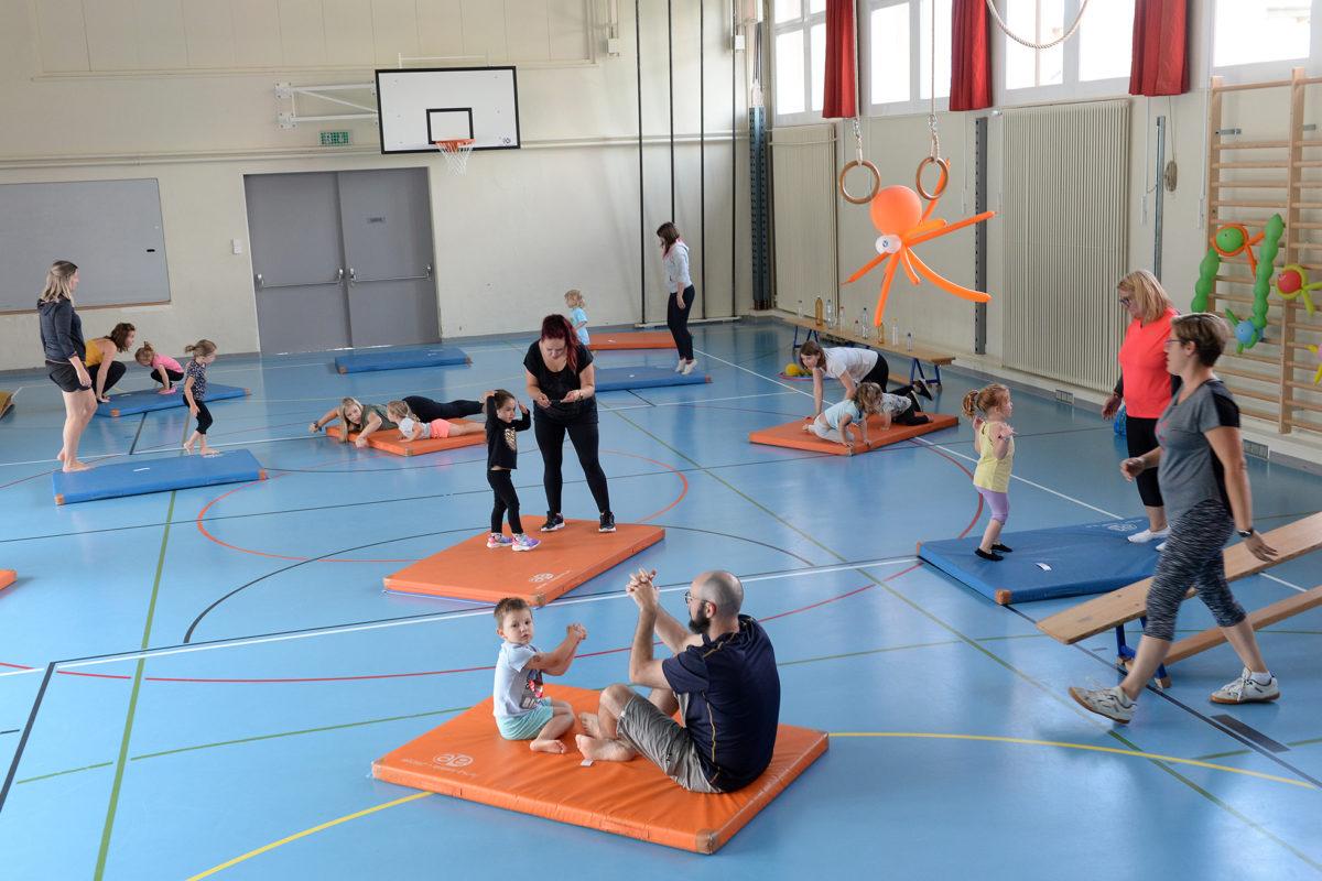 Les petits gymnastes pas tous logés à la même enseigne