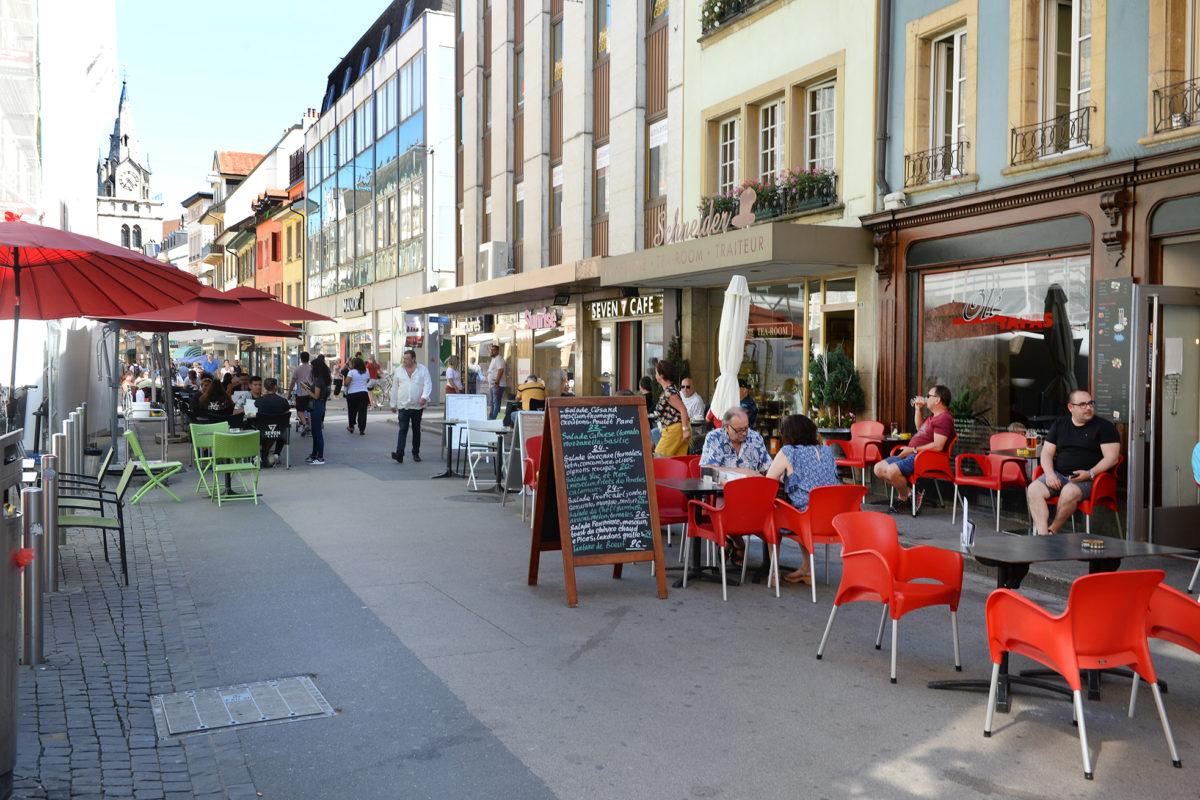 Des bornes escamotables installées au centre-ville