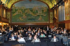 Vue de la place du président lors d'une séance du Grand Conseil. Plus que la conduite des débats, l'application de la procédure a été un enjeu pour lui. © Dany Schaer