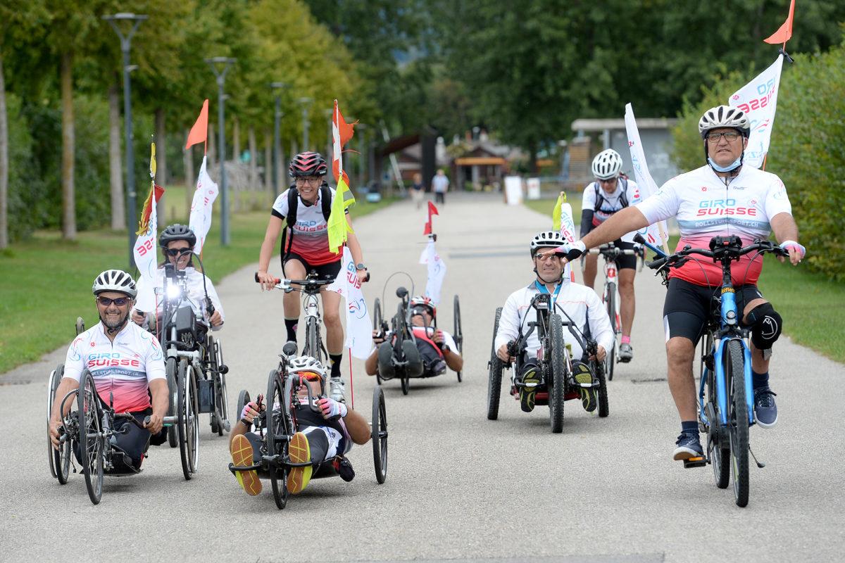 Le Giro Suisse, une façon de découvrir le pays à la force des bras