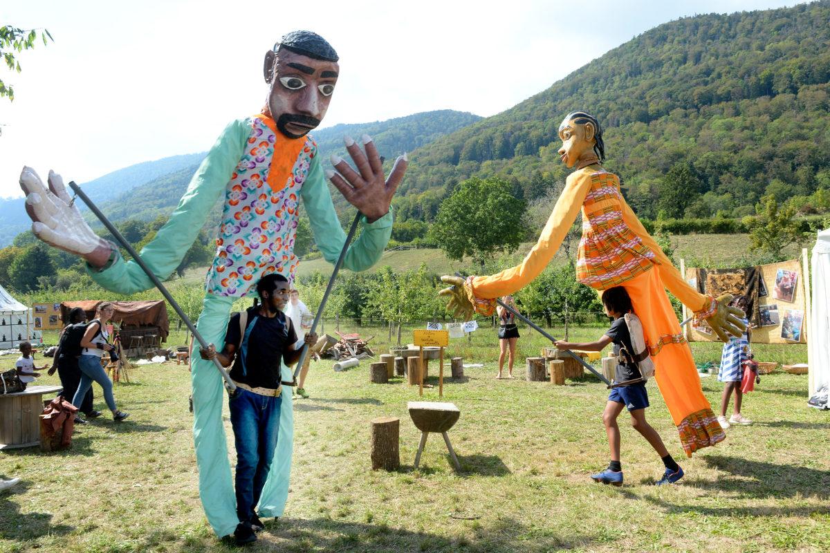 Les grands marionnettistes maliens sont arrivés!