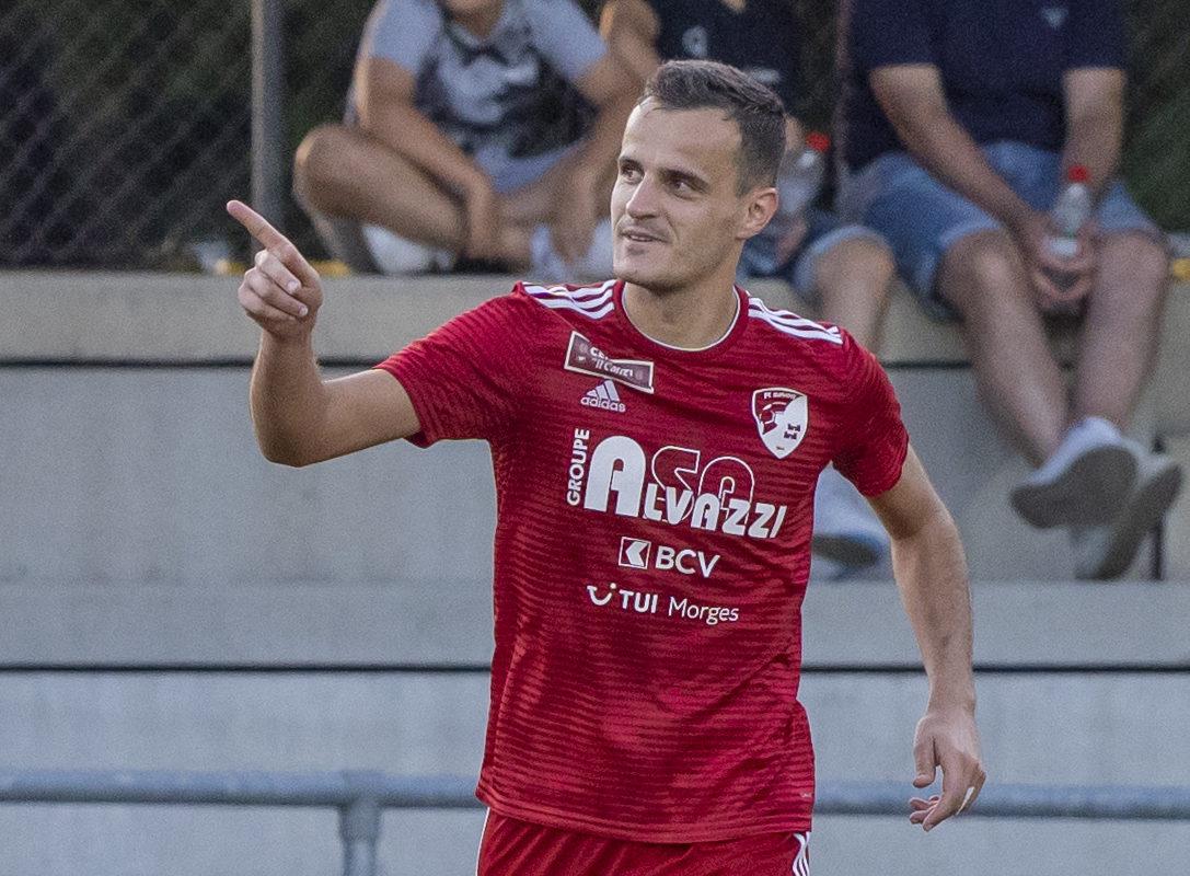 Marko Misic envoie Bavois à la troisième place de Promotion League!