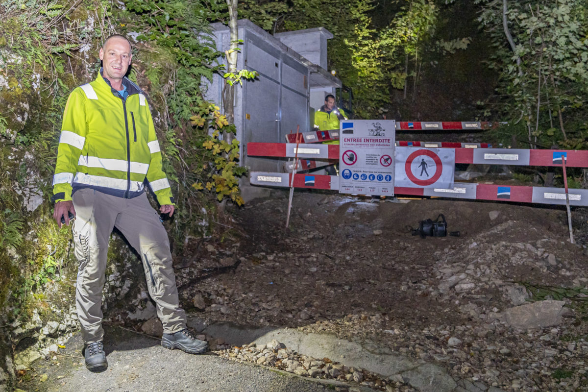 Alerte au gaz maîtrisée à Vuiteboeuf