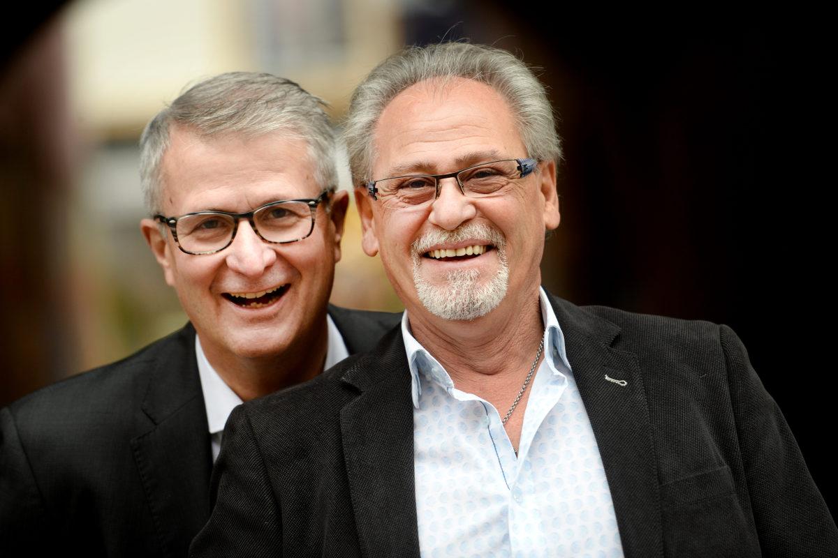 Deux hommes en mission