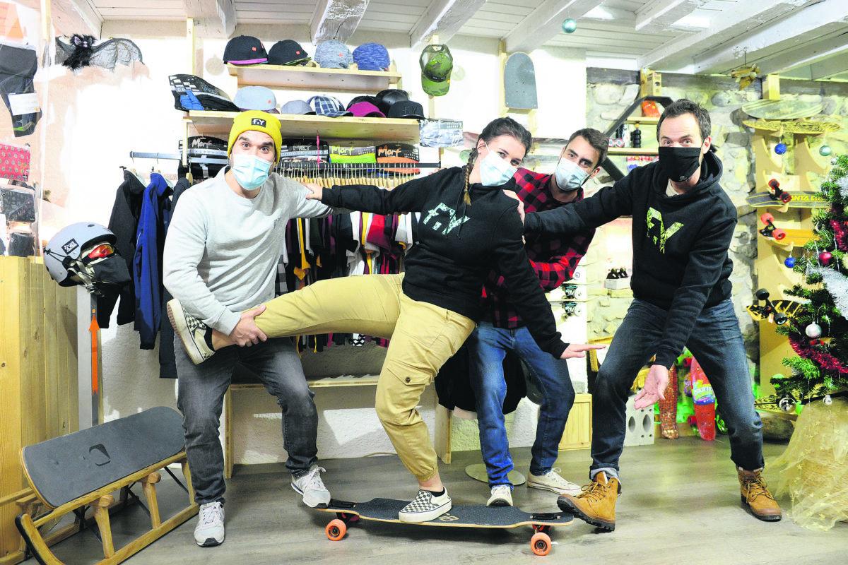 Skater pour  la bonne cause
