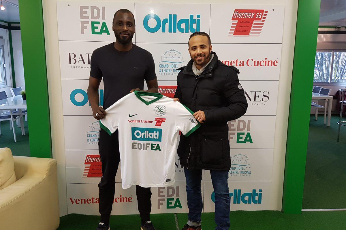 Khaled Gourmi de retour à Yverdon Sport