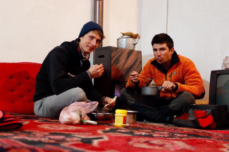 Guillaume Berney a fait de rencontres qu'il n'est pas près d'oublier, comme ici en Iran. ©Edoardo Bernascone