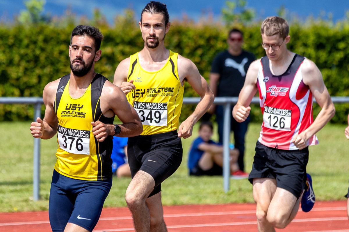 Timo Roth et émile Durussel en force sur 1500m