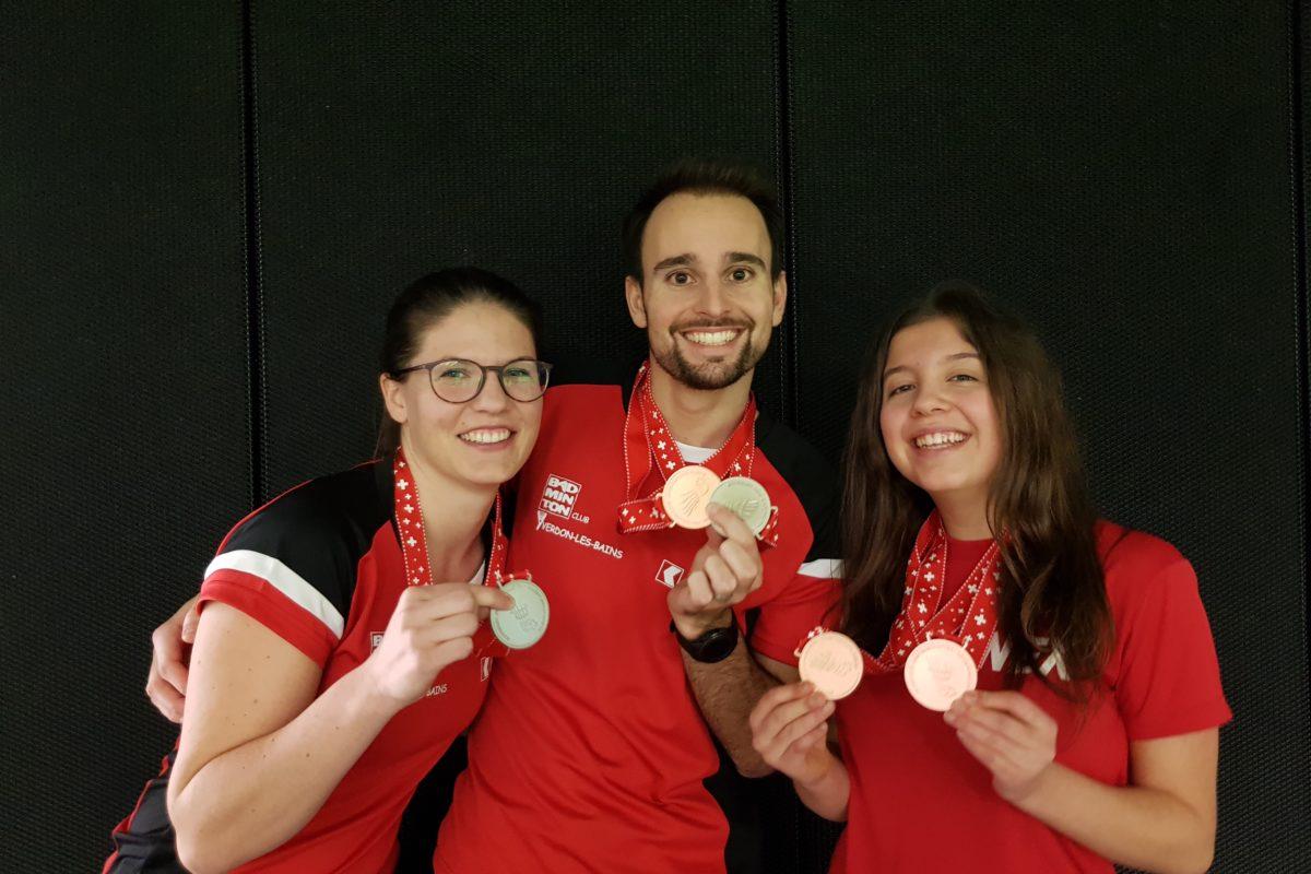 Quatre médailles nationales  pour se remettre sur de bons rails