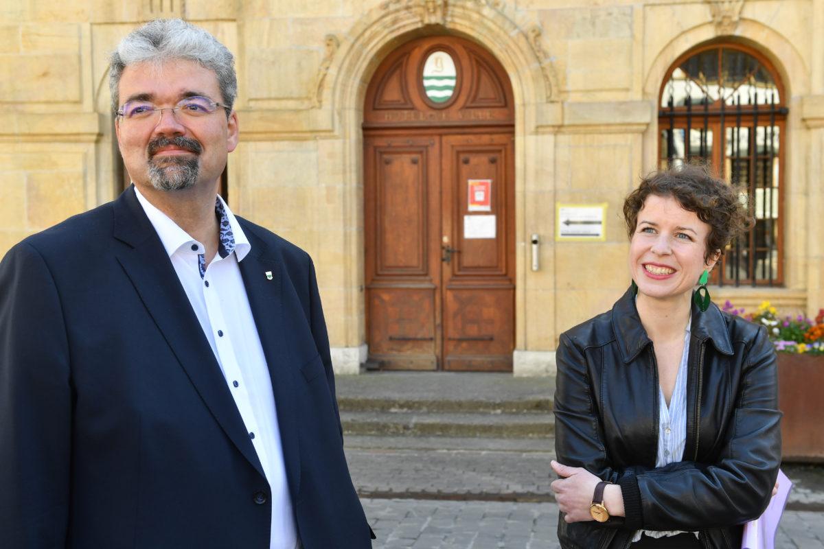 Pierre Dessemontet et Carmen Tanner cosyndic(ques)!