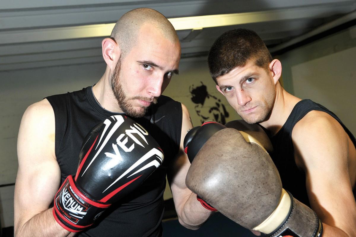 La nouvelle garde du Club yverdonnois de boxe