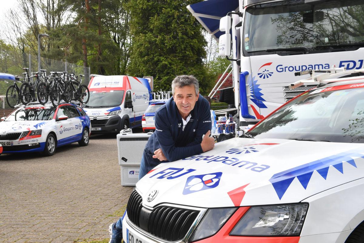 Yverdon la paisible séduit les équipes du Tour de Romandie