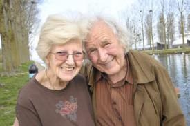 Gilberte et André Ravessoud abordent une nouvelle vie.