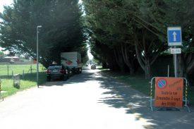 L'avenue de la Plage retrouve le double sens de circulation. Le trafic à l'intersection de l'avenue des Sports et des Grèves de Clendy sera allégé. ©Raposo