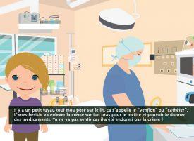 L'outil permet à l'enfant de comprendre toutes les étapes de l'opération. ©DR
