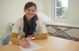 Nadia Carità était cheffe de clinique aux urgences ambulatoires à Yverdonles- Bains, désormais elle accueillera des patients à Cossonay. ©EHNV