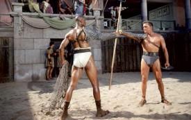 Kirk Douglas dans «Spartacus», péplum de «gauche». Ce héros fut vénéré dans feue l'Union Soviétique où bien des clubs s'appellent «Spartak». ©DR