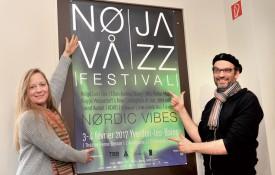 Aline Zbiden et André Hahne, du comité Nova Jazz, espèrent que cette première ouvrira la voie à d'autres éditions. ©Michel Duperrex
