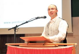 David Girod, président du comité d'organisation de la fête. ©Carole Alkabes
