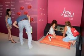 Le musée interactif de l'entreprise a suscité l'intérêt de nombreux visiteurs durant trois jours. ©Roger Juillerat