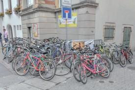 Des centaines de cycles ont été légués par de généreux Urbigènes. ©Pierre Blanchard