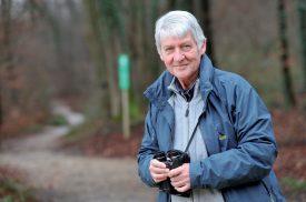 L'ornithologue Michel Antoniazza, d'Yvonand, fin connaisseur des oiseaux. ©Duperrex-a