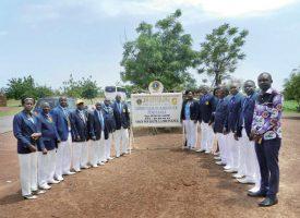 Les membres du Lions club de Ouahigouya, qui soutient le projet. ©DR